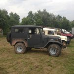 toyota bj40 campen offroad