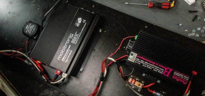Fraron Ladegerät 24v 12v b2b computer ladekurve