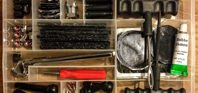tire repair kit travel safty reifenpanne flickset luftverlust